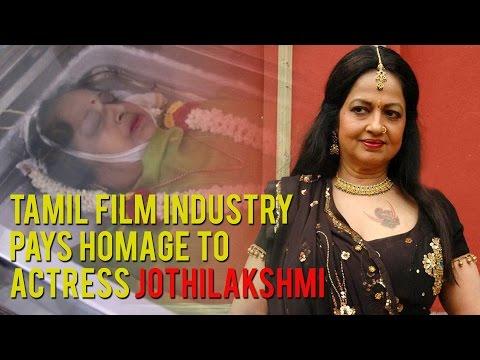 Tamil Film Industry pays homage to Actress Jothilakshmi