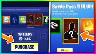 BUYING EVERY SEASON 3 BATTLE PASS TIER in Fortnite: Battle Royale (New Skins & Items Showcase)