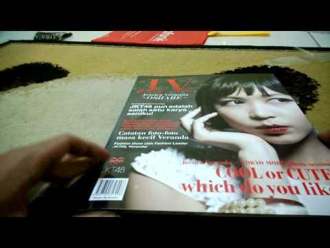 Jessica Veranda JKT48 Photobook (J.V OSHARE) Unboxing and Preview