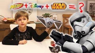 Nerf + Disney + Star Wars = ???   Fun Toy or NOT ?