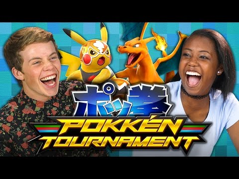 POKKEN TOURNAMENT Teens React Gaming