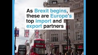 As Brexit begins, these are Europe´s top import and export partners