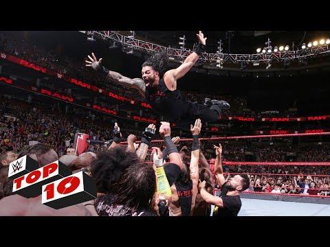 Xxx Mp4 Top 10 Raw Moments WWE Top 10 July 9 2018 3gp Sex