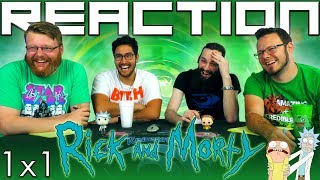 Rick and Morty 1x1 REACTION!!