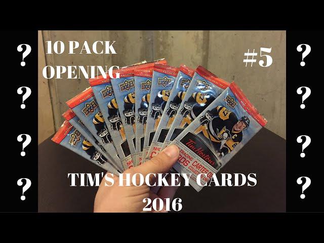 2016-17 Tim Hortons Hockey Cards Opening - Ep. 5 (10 Packs) [HD]