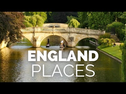 10 Best Places to Visit in England Travel Video