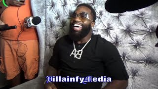 LOL ADRIEN BRONER: ANDRE WARD ONLY ONE WHO CAN KNOCK SOMBODY OUT WITH DICK SHOTS...