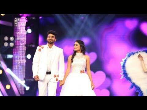 Naagini Arjun Amrutha special romantic dance in DKD