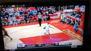 Jaye Crockett dunk at Iowa State