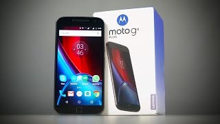 Moto G4 Plus - Unboxing & Hands On!