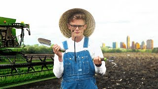 City Boy Tries Being A Farmer For A Month