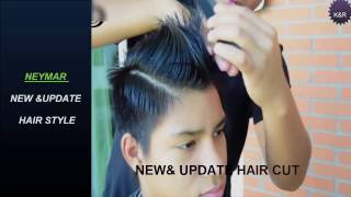 ★★NEYMER NEW & UPDATE HAIRCUT 2016★Neymar 2016 Hairstyle & Haircut Tutorial★★
