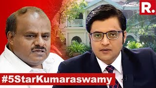 Who Paid For CM's 5 Star Residence? | The Debate With Arnab Goswami
