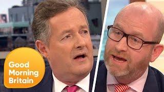 Piers Morgan Argues Against Paul Nuttall
