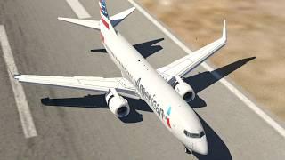 Practising 737 T/O Landings  -  XPlane11