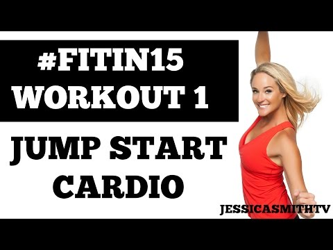 Exercise to lose weight fast at home Jump Start Cardio 15 Minute Fat Burning Fitness Program