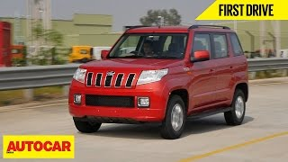 Mahindra TUV300 AMT | First Drive | Autocar India