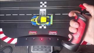 Carrera Digital 132/124 control Unit programmieren