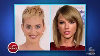 John Kasich On Katy Perry & Taylor Swift's