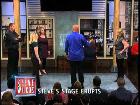 Xxx Mp4 Steve 39 S Stage Erupts The Steve Wilkos Show 3gp Sex