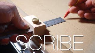 Make a Wood Scribe Marking Tool