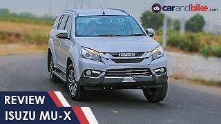 Isuzu MU-X Review | NDTV CarAndBike
