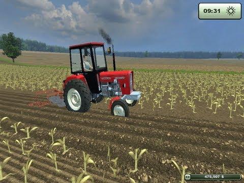 Farming simulator 2013 LS 2013 orka ursusem c360 3p i c330 dźwięk silnika