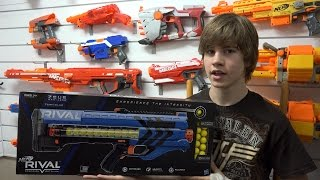 Nerf Rival Zeus MXV-1200 Unboxing and Review