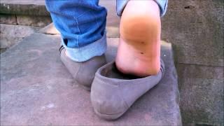 Cute Sweaty Feet & Flats