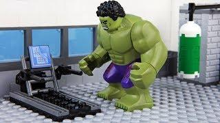 Lego Hulk Gym Fail
