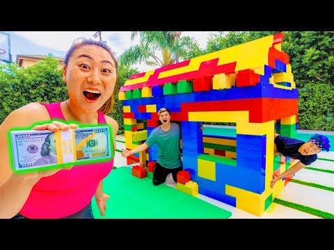 LAST TO LEAVE THE LEGO HOUSE WINS 10 000