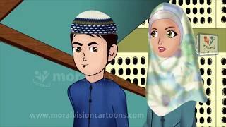 When Abdul Bari going upward English Version Islamic Cartoons for children
