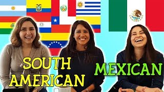 Mexican vs South American Slang Challenge