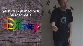 Gæt Og Grimasser Med Disney