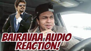 Bairavaa   Varlaam Varlaam Vaa Song Reaction   Ilayathalapathy Vijay  Santhosh Narayanan