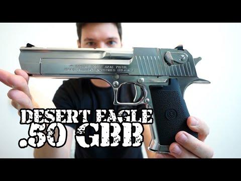 Desert Eagle .50 Cromada Tokio Marui Airsoft Brasil