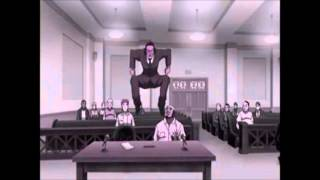 TOMS nigga moment in da court room!!!!!!