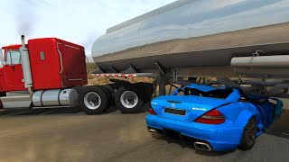 Deadly Car Crashes #5 - BeamNG Drive
