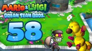 Let's Play Mario & Luigi Dream Team Bros. Part 58: Für und gegen Claude