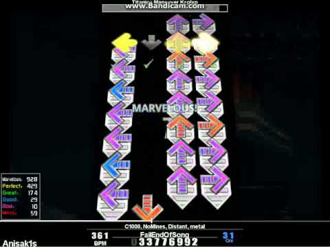 StepMania - Titanics Maneuver - B by anisak1s