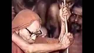 A rare video of Sri Chandrasekharendra Saraswathi Maha Swamigal, the Paramacharya of Kanchi