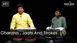 Musiana Master Class | Tabla 105 | Gharana , Jaati , Strokes | Pt. Subhankar Banerjee
