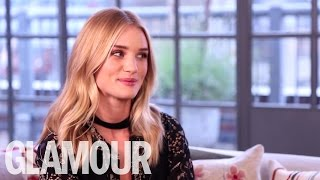 Rosie Huntington-Whiteley talks Beauty and her Top Makeup Tips | Beauty Talk | Glamour UK