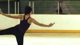 Introducing Emmanuelle Scalzo - Professional Ice Skater
