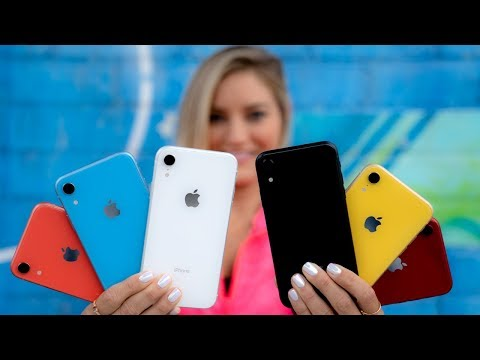 🔥 All iPhone XR Colors