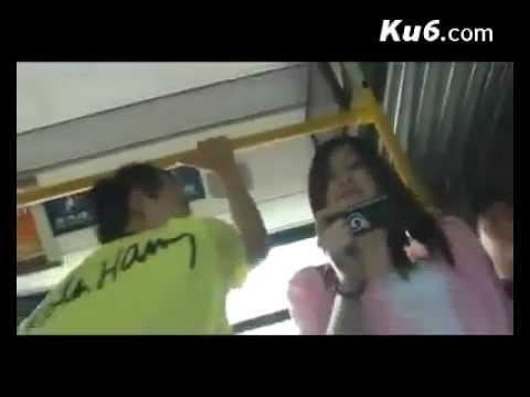 Làm sao để hôn gái lạ trên xe bus