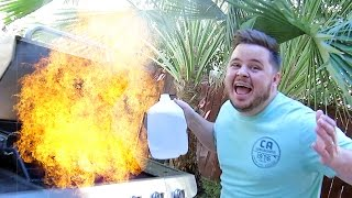 SCARY FIRE EMERGENCY!! (10.5.14 - Day 618)