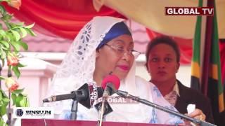 Bi Samia Awataka Wanafunzi 'Wakamue' Sayansi Kufanikisha Sera ya Viwanda