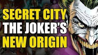 Batman Rebirth War of Jokes and Riddles Prelude: Joker's Origin