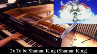 Shaman King OP - To be Shaman King (english) [piano] Lyrics + Video